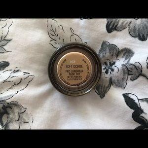 Mac cosmetics soft ochre paint pot